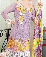 Lilac Silk Linen Suit