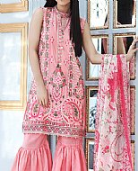 Pink Cotton Silk Suit