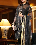 Black Chiffon Suit