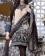 Ivory/Chocolate Lawn Suit