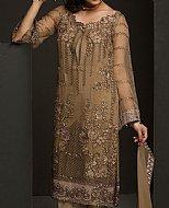 Bronze Chiffon Suit