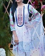 Off-white Lawn Suit- Pakistani Lawn