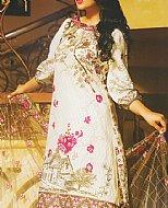 Ivory Lawn Suit- Pakistani Lawn
