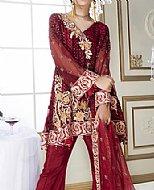 Magenta Chiffon Suit
