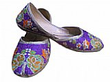 Ladies Khussa- Purple