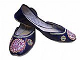 Ladies Khussa- Navy Blue