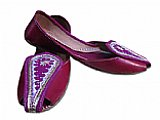 Ladies Khussa- Burgandy
