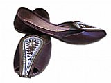Ladies Khussa- Chocolate Brown