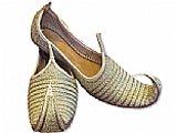 Gents Khussa- Golden/Brown