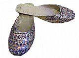 Ladies Slip-on Khussa- Golden
