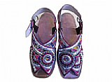 Ladies Chappal- Silver