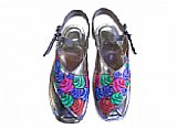 Ladies Chappal- Silver- Khussa Shoes for Women