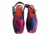 Ladies Chappal- Burgundy