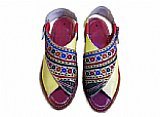 Ladies Chappal- Multicolor
