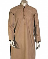 Light Brown Men Shalwar Kameez
