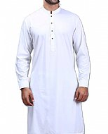 White Men Shalwar Kameez Suit