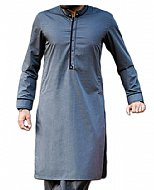 Blue Men Shalwar Kameez Suit