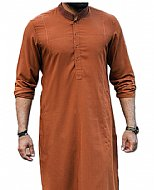 Golden Brown Men Shalwar Kameez