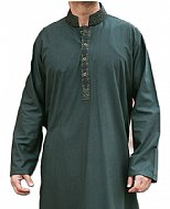 Teal Men Shalwar Kameez Suit