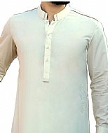 Off-white Men Shalwar Kameez Suit