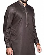 Metal Grey Men Shalwar Kameez