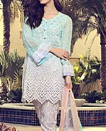 Sea Green Lawn Suit