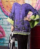 Indigo Linen Suit (2 Pcs)