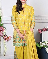 Yellow Lawn Suit