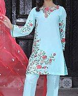Light Blue Lawn Suit
