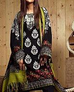 Black Khaddar Suit