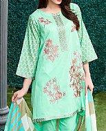 Light Sea Green Lawn Suit