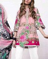 Pink Lawn Suit