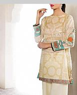 Beige Lawn Suit (2 Pcs)