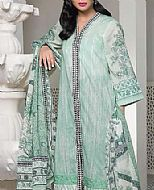 Sea Green Lawn Suit (2 Pcs)