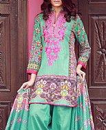 Turquoise Lawn Suit- Pakistani Lawn