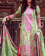 Light Green Lawn Suit- Pakistani Cotton dress