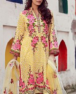 Yellow Lawn Suit- Cotton dress