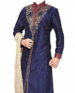 Sherwani 208- Indian Wedding Sherwani Suit