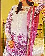 Lilac/Violet Lawn Suit.- Cotton dress