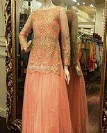 Peach Net Suit