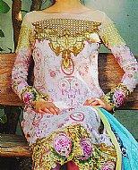 Lilac Lawn Suit- Cotton dress