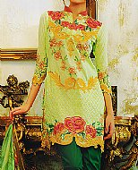 Light Green Lawn Suit- Pakistani Lawn Dress