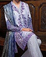 Lilac Lawn Suit.- Pakistani Lawn
