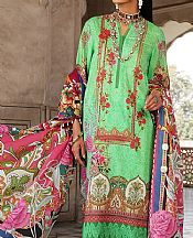 Pastel Green Lawn Suit- Pakistani Designer Lawn Dress