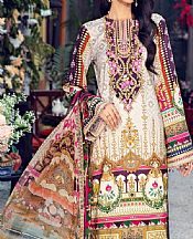Multicolor Lawn Suit- Pakistani Designer Lawn Dress
