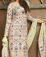 Peach Cotton Net Suit