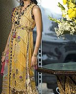 Mustard Lawn Suit- Pakistani Designer Lawn Dress