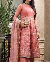Tea Rose Net Suit- Pakistani Chiffon Dress