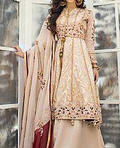 Beige Jacquard Suit- Pakistani Chiffon Dress