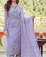 Lilac Organza Suit- Pakistani Lawn Dress